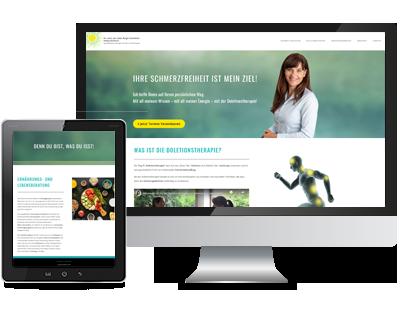 webdesign für birgit viertlböck doletionstherapie